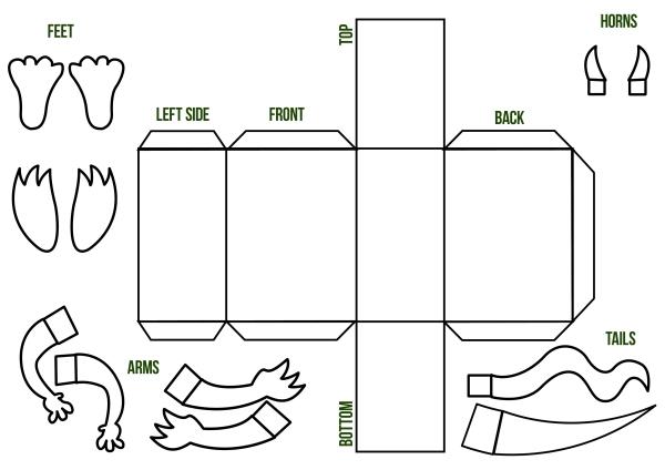 children's workshop, template, monster, workshop