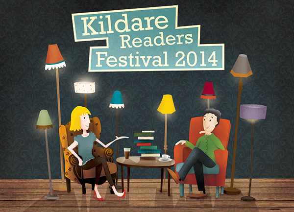 kildare readers festival programme of events illustration and design